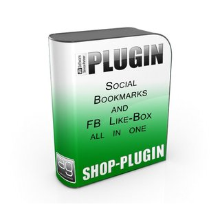 Shariff Social Bookmarks and Facebook Like Box - All in one